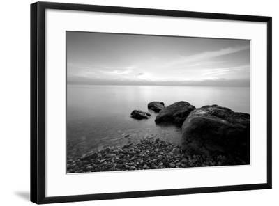 Rocks on Beach-PhotoINC-Framed Photographic Print