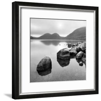 Silent Lake--Framed Photographic Print