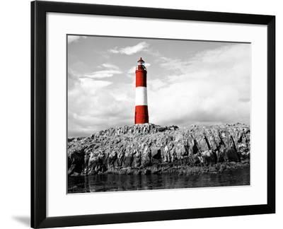 Lighthouse Border-Anna Coppel-Framed Photographic Print