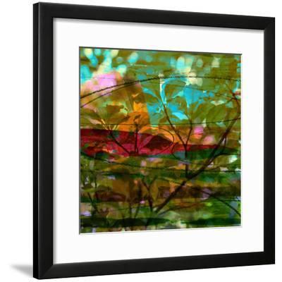 Abstract Leaf Study III-Sisa Jasper-Framed Photographic Print