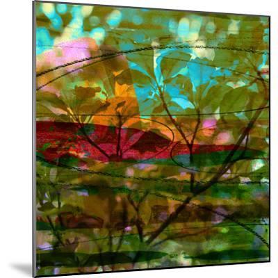 Abstract Leaf Study III-Sisa Jasper-Mounted Photographic Print