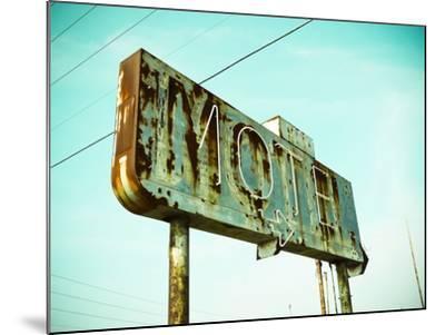 Vintage Motel I-Recapturist-Mounted Photographic Print