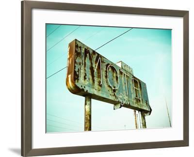 Vintage Motel I-Recapturist-Framed Photographic Print