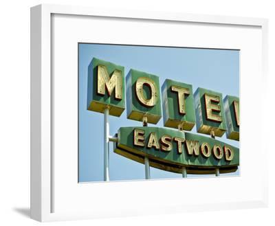 Vintage Motel III-Recapturist-Framed Photographic Print
