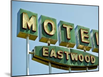 Vintage Motel III-Recapturist-Mounted Photographic Print