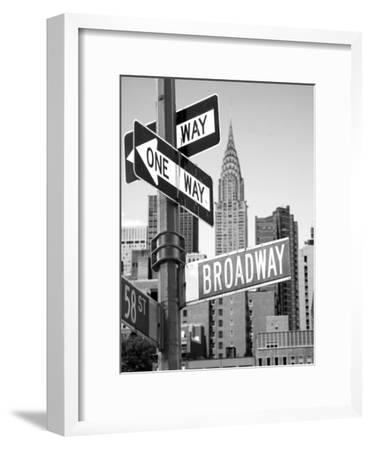Broadway--Framed Photographic Print