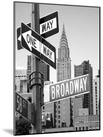 Broadway--Mounted Photographic Print