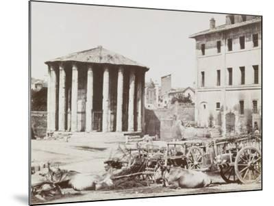 View of Rome--Mounted Photographic Print