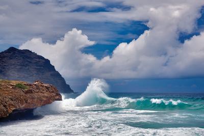 Wave Hello-Dennis Frates-Photographic Print