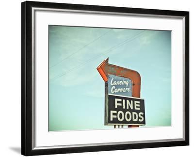Vintage Diner II-Recapturist-Framed Photographic Print