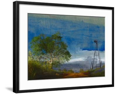 Road and Windmill-Sisa Jasper-Framed Photographic Print