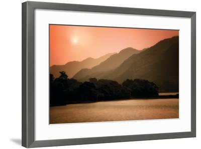 Peach Dream-Dennis Frates-Framed Photographic Print