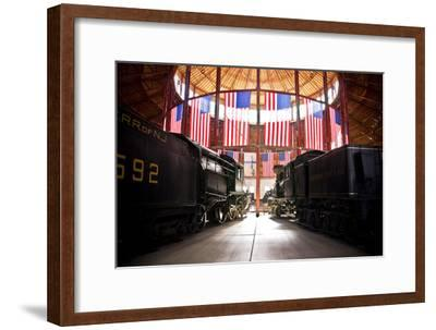 Inside the Historic Roundhouse-Amanda Barrett-Framed Photographic Print