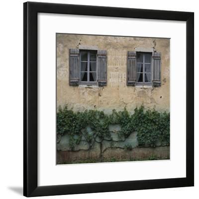 Shuttered Windows Auxonne-Les Petit France-Joe Cornish-Framed Photographic Print