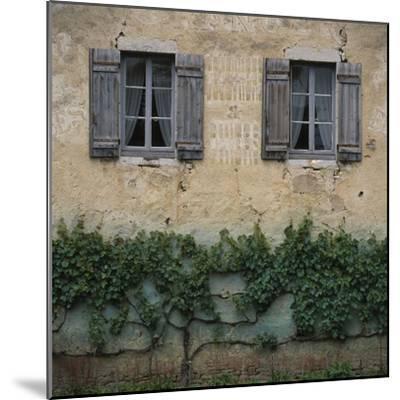 Shuttered Windows Auxonne-Les Petit France-Joe Cornish-Mounted Photographic Print