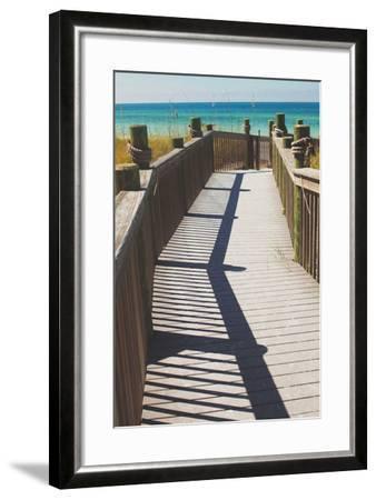 Coast Dock I-Susan Bryant-Framed Photographic Print