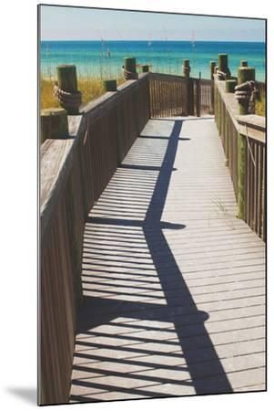 Coast Dock I-Susan Bryant-Mounted Photographic Print
