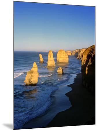 Victoria, Great Ocean Road, Sunrise on the Twelve Apostles-Marcel Malherbe-Mounted Photographic Print