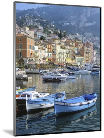 Cote D'Azur, Villefranche-Sur-Mer, View on Town and Port-Marcel Malherbe-Mounted Photographic Print