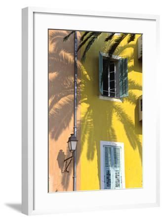 Cote D'Azur, Villefranche-Sur-Mer; Mediterranean Architecture-Marcel Malherbe-Framed Photographic Print