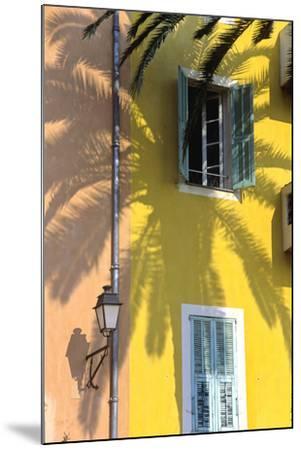 Cote D'Azur, Villefranche-Sur-Mer; Mediterranean Architecture-Marcel Malherbe-Mounted Photographic Print
