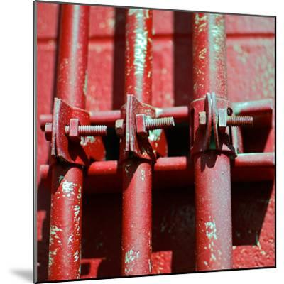 Pipes Square II-Gail Peck-Mounted Photographic Print
