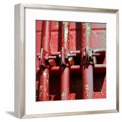 Pipes Square II-Gail Peck-Framed Photographic Print