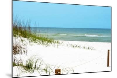 White Sandy Beach II-Gail Peck-Mounted Photographic Print