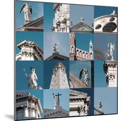 Multiple Views of Venice-Mike Burton-Mounted Photographic Print
