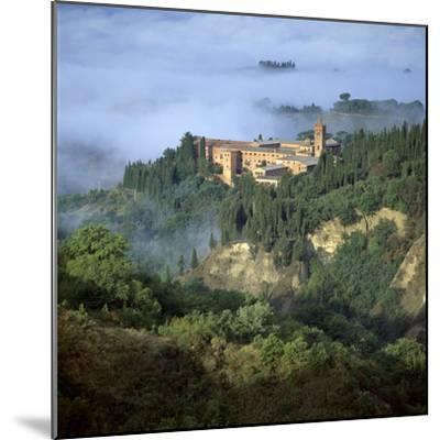 Abbazia Di Monte, Oliveto Maggiore, Tuscany, Italy-Joe Cornish-Mounted Photographic Print