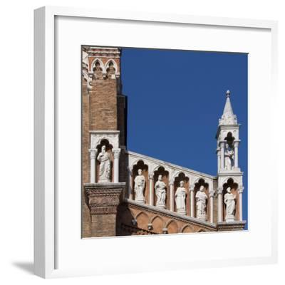 Venice Architectural Detail-Mike Burton-Framed Photographic Print