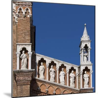 Venice Architectural Detail-Mike Burton-Mounted Photographic Print