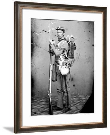 Sgt. Joseph Dore, 7th N.Y.S.M., c.1865--Framed Photo