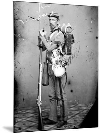 Sgt. Joseph Dore, 7th N.Y.S.M., c.1865--Mounted Photo