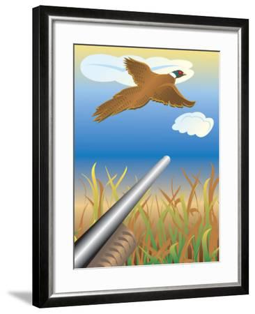 Duck Hunting--Framed Photo
