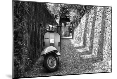 Vespa In Alley Amalfi, Italy--Mounted Photo