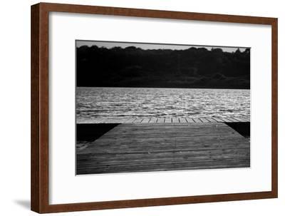 Dock in Montauk NY--Framed Photo