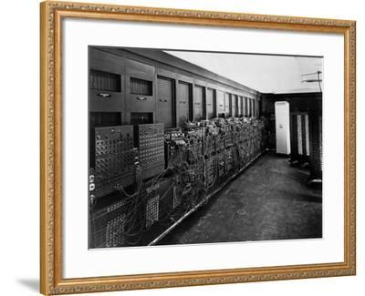 Eniac Computer Was the First General-Purpose Electronic Digital Computer--Framed Photo