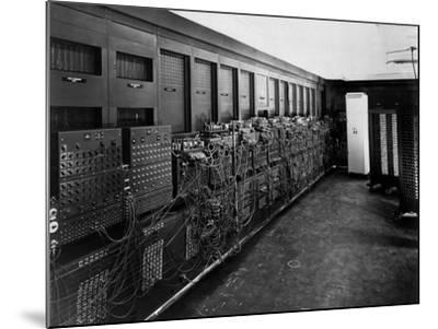Eniac Computer Was the First General-Purpose Electronic Digital Computer--Mounted Photo