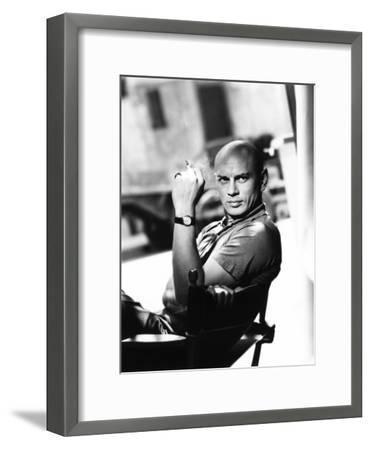 Yul Brynner, 1956--Framed Photo