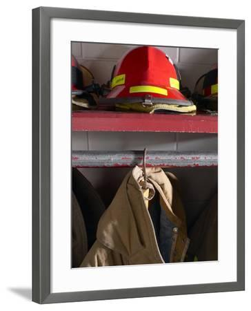 Firefighting Gear--Framed Photographic Print