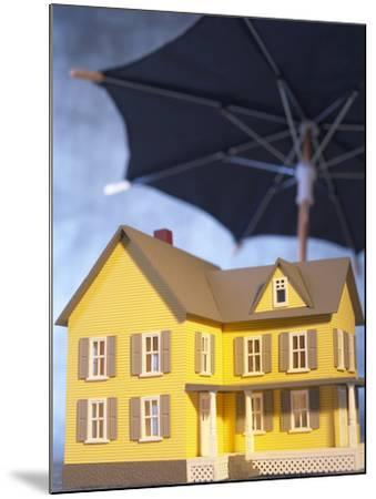Beautiful Home Under an Umbrella--Mounted Photographic Print