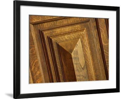Close-up of Wood Texture--Framed Photographic Print