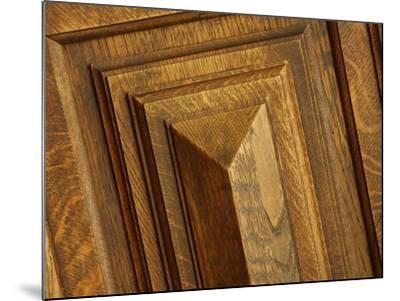 Close-up of Wood Texture--Mounted Photographic Print