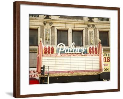 Vintage Theatre Billboard--Framed Photographic Print