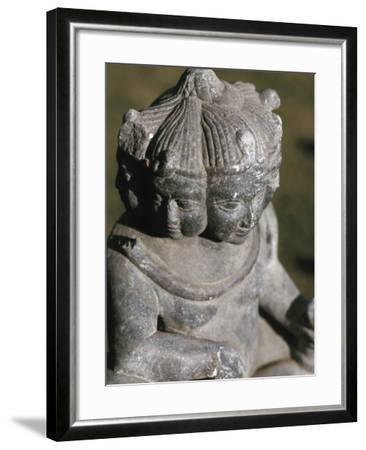 Miniature Religious Hindu Sculpture--Framed Photographic Print