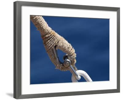 Nautical Ropes--Framed Photographic Print