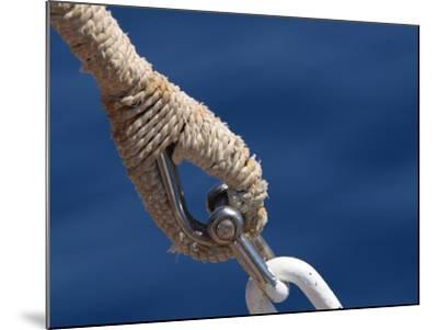 Nautical Ropes--Mounted Photographic Print