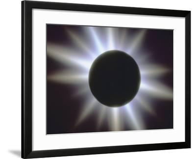 A Solar Eclipse--Framed Photographic Print