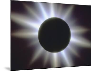 A Solar Eclipse--Mounted Photographic Print